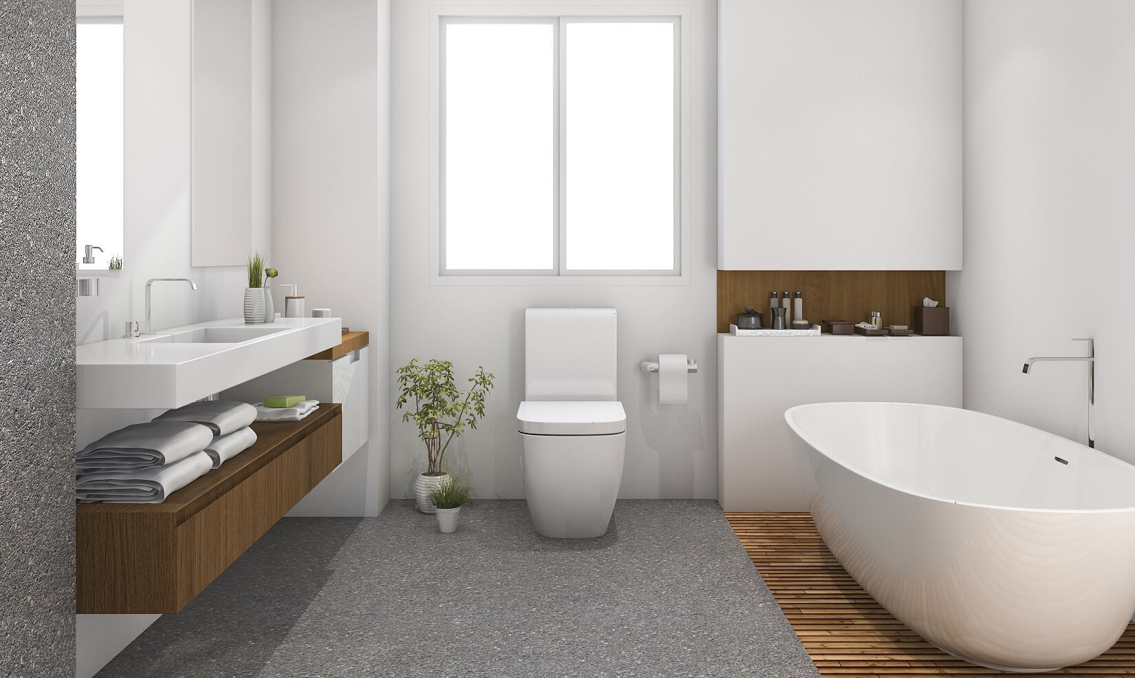 How to clean bathrooms